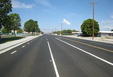 Miles Avenue Street Widening